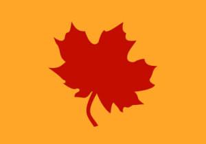 Fall Flag for Bar Harbor Merchants Association